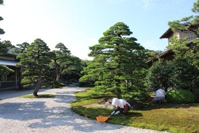 20140921 203742 大根島にある広大な日本庭園 日本庭園由志園