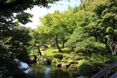 20140921 203756 大根島にある広大な日本庭園 日本庭園由志園