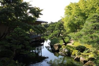 20140921 203804 大根島にある広大な日本庭園 日本庭園由志園