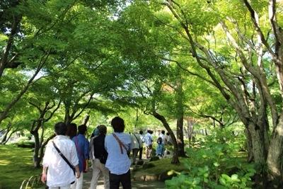 20140921 203813 大根島にある広大な日本庭園 日本庭園由志園