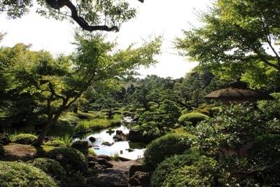 20140921 203837 大根島にある広大な日本庭園 日本庭園由志園