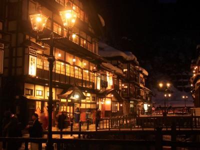 銀山温泉 400x300 大正ロマンの雰囲気に浸る【銀山温泉】で過ごす週末。