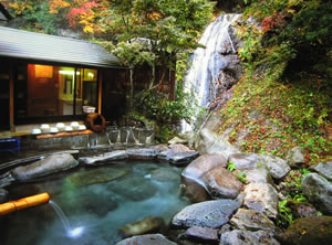 八丁の湯 関東最後の秘湯で自然満喫と湯呑み