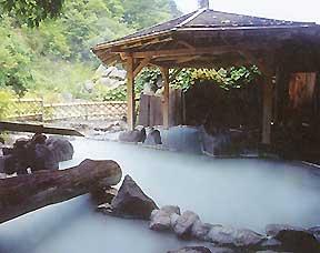 加仁湯2 関東最後の秘湯で自然満喫と湯呑み