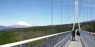 三島大吊橋2 400x200 三島スカイウォーク 日本一の吊り橋が伊豆にOPEN!