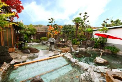 七沢荘露天風呂(女性) 400x267 とろとろ~美肌の温泉に包まれました♡七沢温泉【七沢荘】